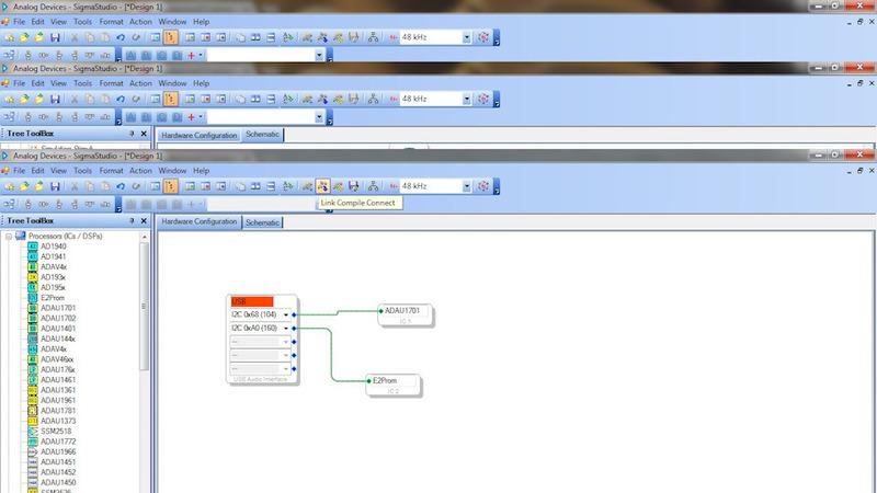 DSP процессор на ADAU1701  Часть 2 — Создание проекта в